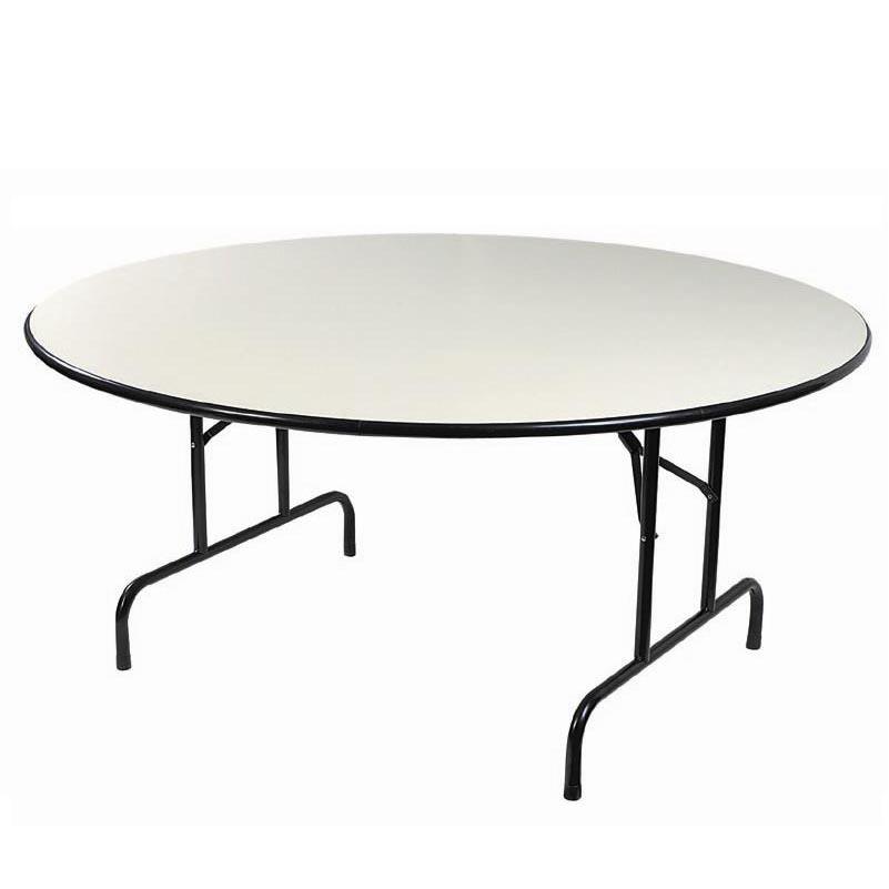 Table ronde plastique 160cm pour vos noces et brunchs - Location de table ronde pour mariage ...