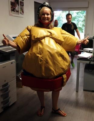 Location déguisement de sumo gonflable pas cher toulon