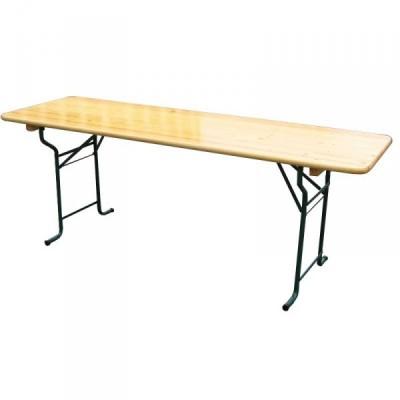 Table Rectangulaire Bois 220*80cm pour vos noces et brunchs