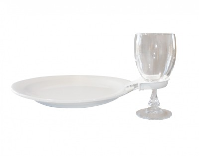 Clip à Assiette Indispensable pour vos réceptions